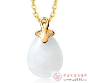 锦邦珠宝-和田玉吊坠