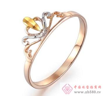 锦邦珠宝-彩金戒指-皇冠1