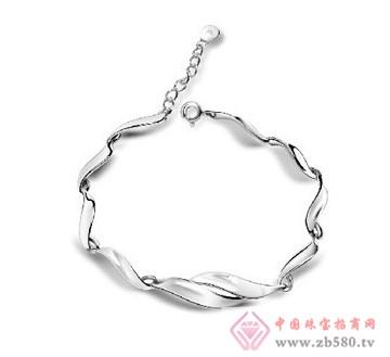 鹏雅首饰-纯银手链1