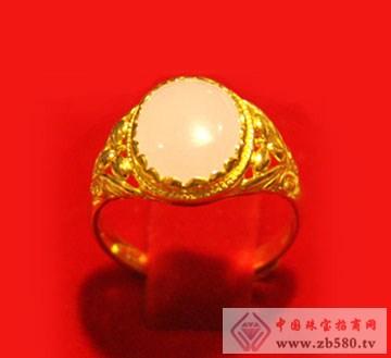 金隆珠宝-黄金镶嵌戒指