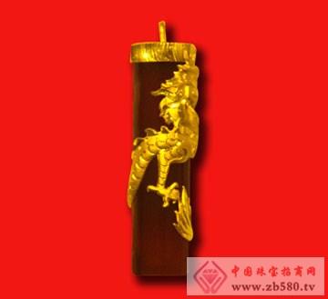 金隆珠宝-黄金镶嵌挂件