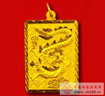 金隆珠宝-黄金挂件04