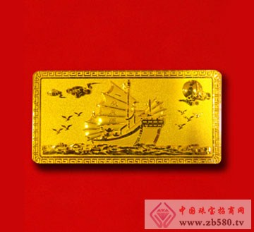 金隆珠宝-黄金收藏金条01