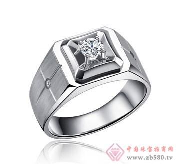 瑞大福-钻石男戒