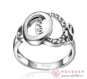 瑞大福-铂金戒指