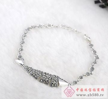 兆祥银饰-银项链