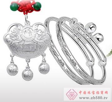 兆祥银饰-纯银儿童套装