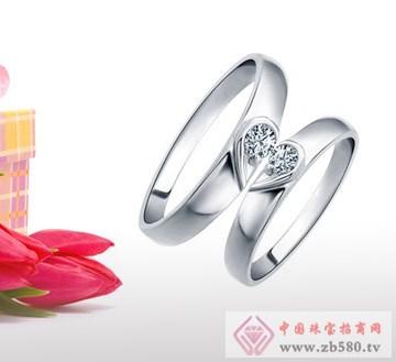 兆祥银饰-纯银戒指