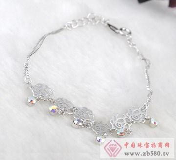 兆祥银饰-纯银手链