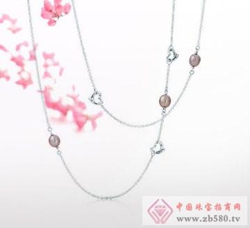 兆祥银饰-纯银项链