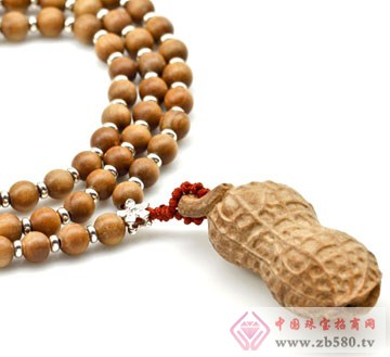 老山檀香项链