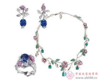 迪奥珠宝平面设计广告