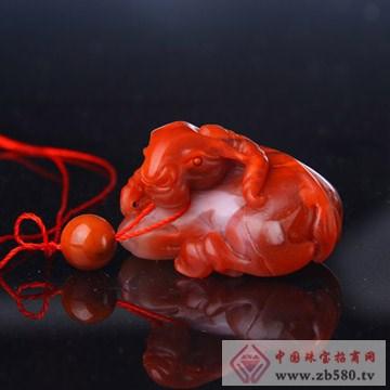 福源珠宝-南红玛瑙吊坠1