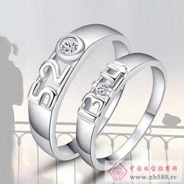 唯卡尼银饰-戒指-我爱你一生一世
