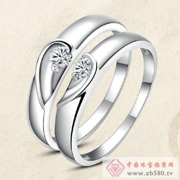 唯卡尼银饰-戒指-心有灵犀