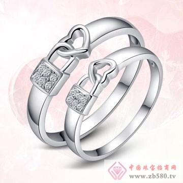 唯卡尼银饰-戒指-心有锁属