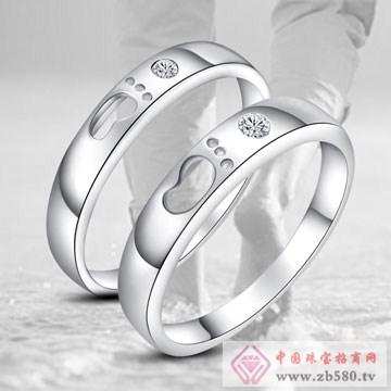 唯卡尼银饰-戒指-爱的足迹