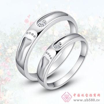 唯卡尼银饰-戒指-脚印