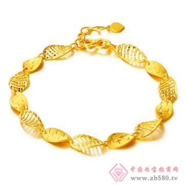 今和颐珠宝-硬千足金手链