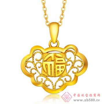 今和颐珠宝-黄金吊坠