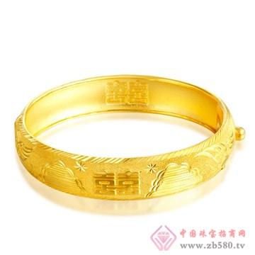 今和颐珠宝-黄金手镯