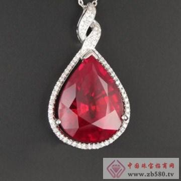 亿德乾-红宝石吊坠1