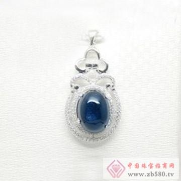 亿德乾-蓝宝石吊坠