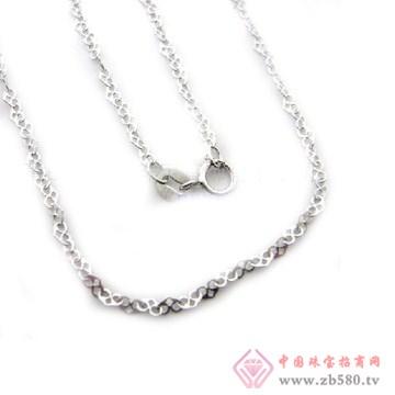 金昌珠宝-双心链