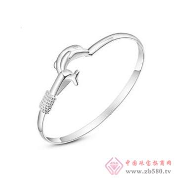 金昌珠宝-海豚之恋手镯