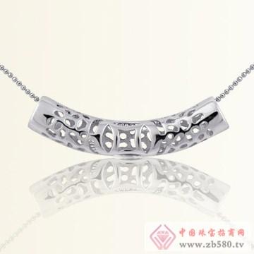 港岛银饰-雕刻时光项链