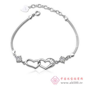 法蒂尼-纯银时尚手链01
