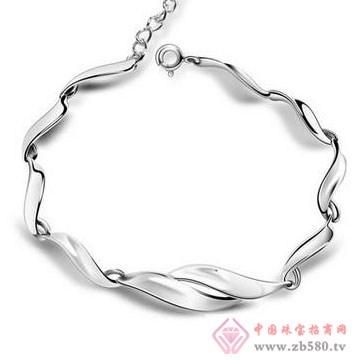 法蒂尼-纯银时尚手链02