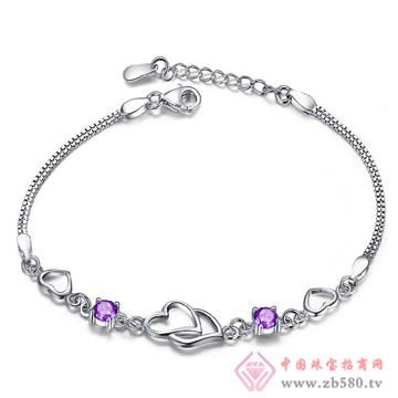 云之晶-紫水晶银手饰