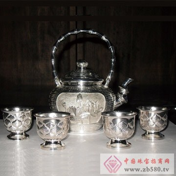 盈盛号-茶壶、茶杯