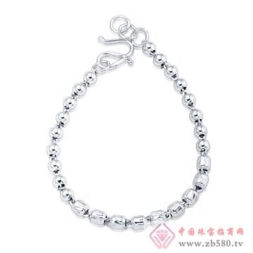 银世汇-素银手链