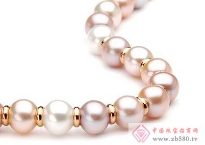 【珍珠】穿孔的洞中有层状结构特征