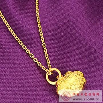 中地黄金-黄金首饰8