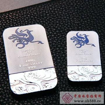 长城金银-青花缘银条