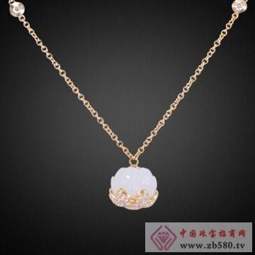 乾玄珠宝-步步生莲系列项链