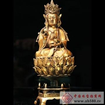 泽华文投-鎏金观音