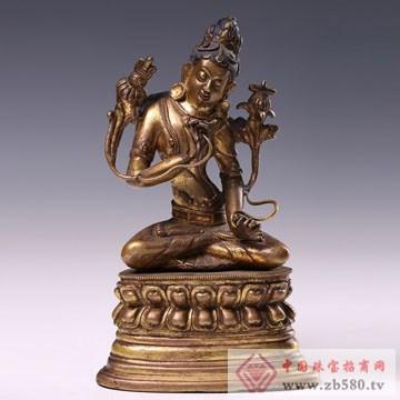 泽华文投-文殊菩萨像