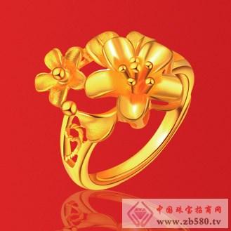 爱大福珠宝黄金戒指2