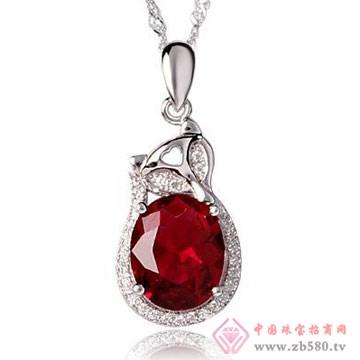 映时珠宝-925银施华洛世奇元素锁骨