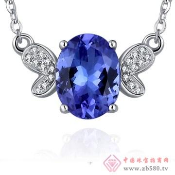 80一诺珠宝-18K白金5A级1克拉坦桑