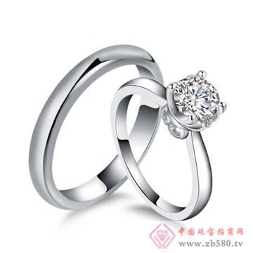 80一诺珠宝-18K白金天然南非钻石对