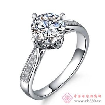 80一诺珠宝-伯爵公主18K白金钻石结