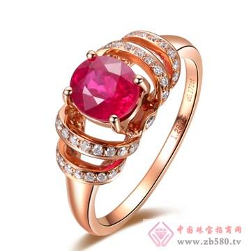 普林尼-红碧玺戒指【心花怒放】