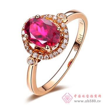 普林尼-红碧玺戒指【拥抱爱】