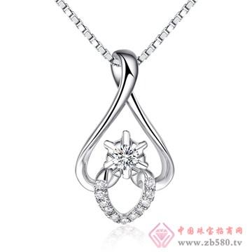 普林尼-钻石吊坠【花环·爱】