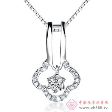 普林尼-钻石吊坠【沁馨】